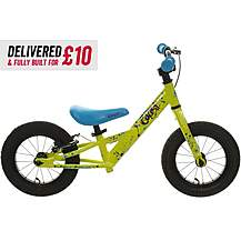 image of Delivered And Built Carrera Coast Balance Bike - 12""