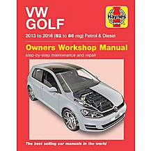 image of VW Golf Petrol & Diesel (13-16)