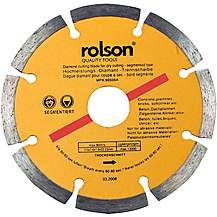 image of Rolson 115mm Diamond Tipped Blade