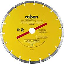 image of Rolson 230mm Diamond Tipped Blade