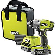 image of Ryobi 18V ONE+ Impact Wrench Starter Kit (1x2.0Ah)