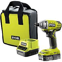 image of Ryobi 18V ONE+ Impact Driver Starter Kit (1x2.0Ah)