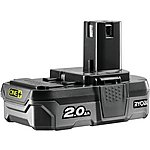 image of Ryobi 18V ONE+ 2.0Ah Battery