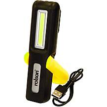 image of Rolson Rechargeable 3w COB Torch and Lamp