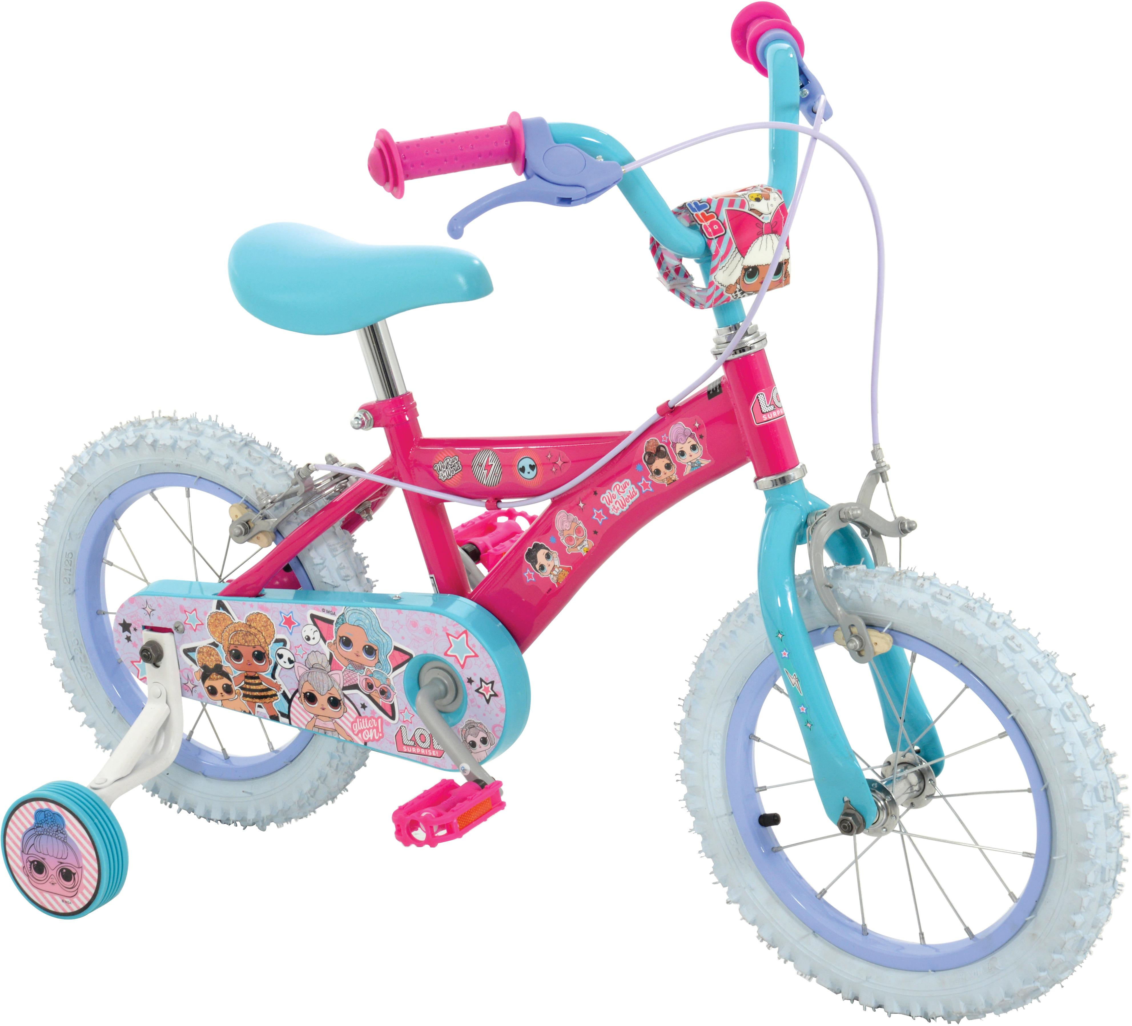 LOL Surprise Kids Bikes - 14 inch Wheel