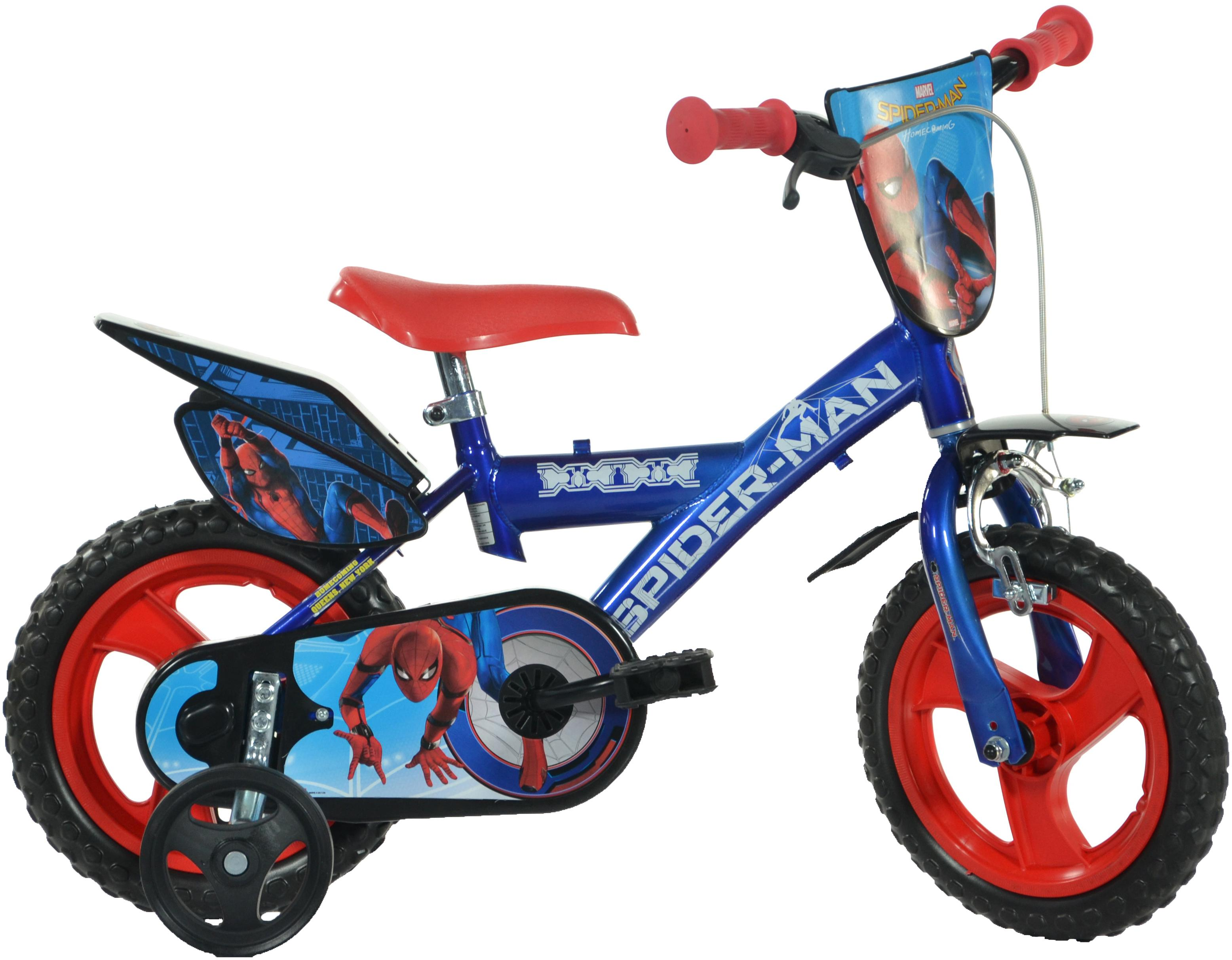 Spiderman Homecoming Kids Bike -  12 inch Wheel