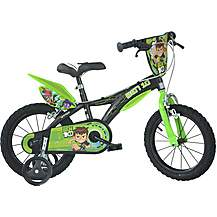 "image of Ben 10 Kids Bike - 16"" Wheel"