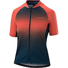 image of Altura Womens Airstream Short Sleeve Jersey Blue/Coral