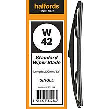 image of Halfords W42 Wiper Blade - Single