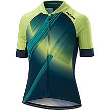 image of Altura Womens Icon Orbit Short Sleeve Jersey Teal/Green