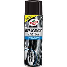 image of Turtle Wax Wet & Black Tyre Foam 500ml