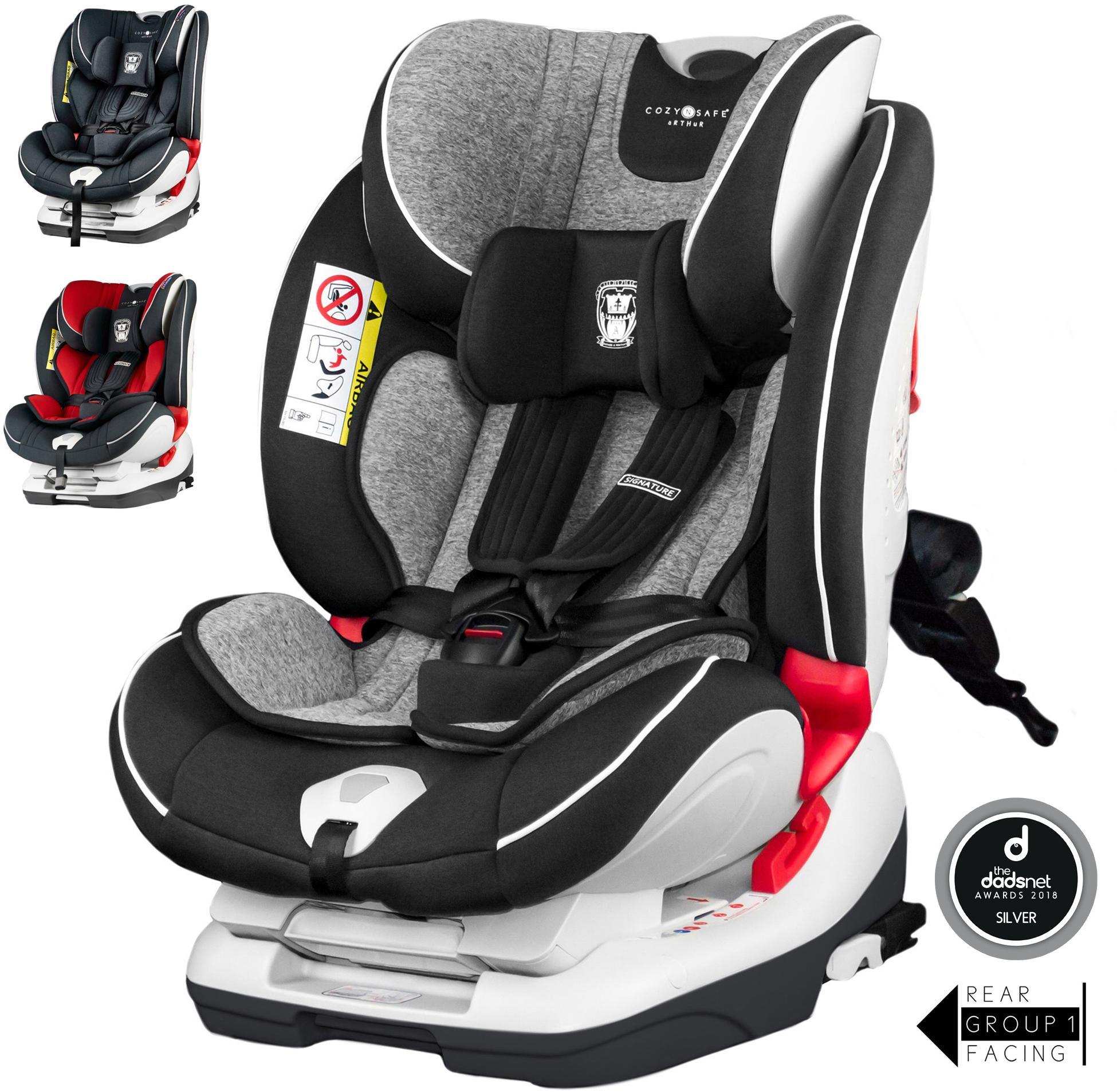 Cozy N Safe Arthur Group 0+/1/2/3 Child Car Seat - Graphite