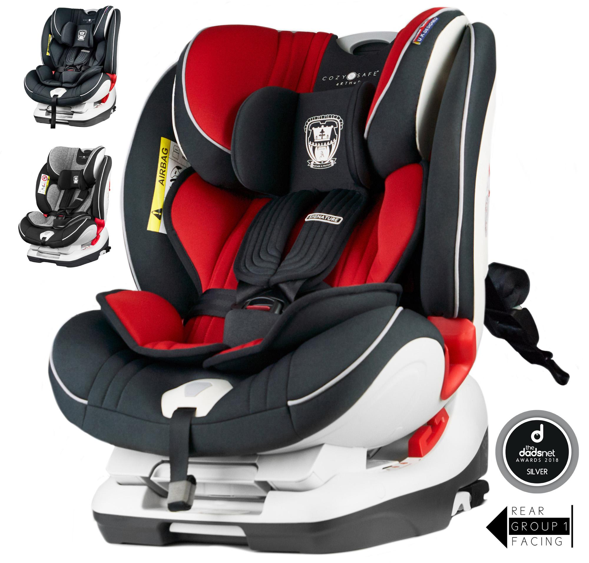 Cozy N Safe Arthur Group 0+/1/2/3 Child Car Seat - Red