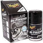 image of Meguiars Whole Car Air Re-Fresher Odor Eliminator Black Chrome Scent