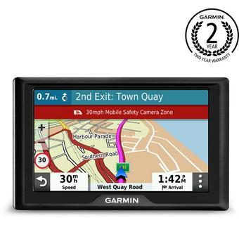 garmin drive 52mt s with uk maps 5 sat nav car sat nav halfords uk. Black Bedroom Furniture Sets. Home Design Ideas