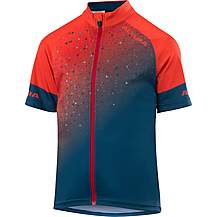 image of Altura Kids Icon Short Sleeve Jersey Spice Orange/Teal