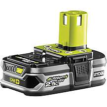 image of Ryobi 18V ONE+ 2.5Ah Battery