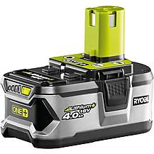 image of Ryobi 18V ONE+ 4.0Ah Battery