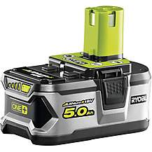 image of Ryobi 18V ONE+ 5.0Ah Battery