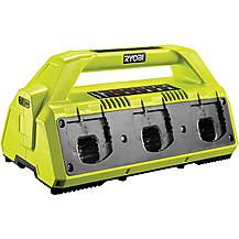 image of Ryobi 18V ONE+ 6-Port Charger