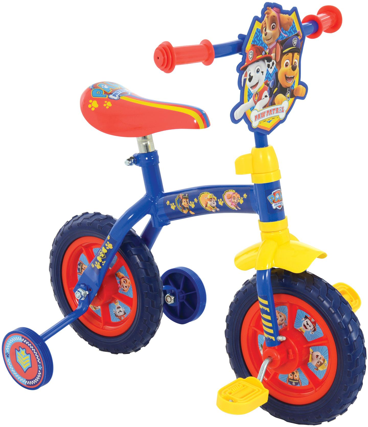 Paw Patrol 2in1 Training Bike - 10 inch Wheel