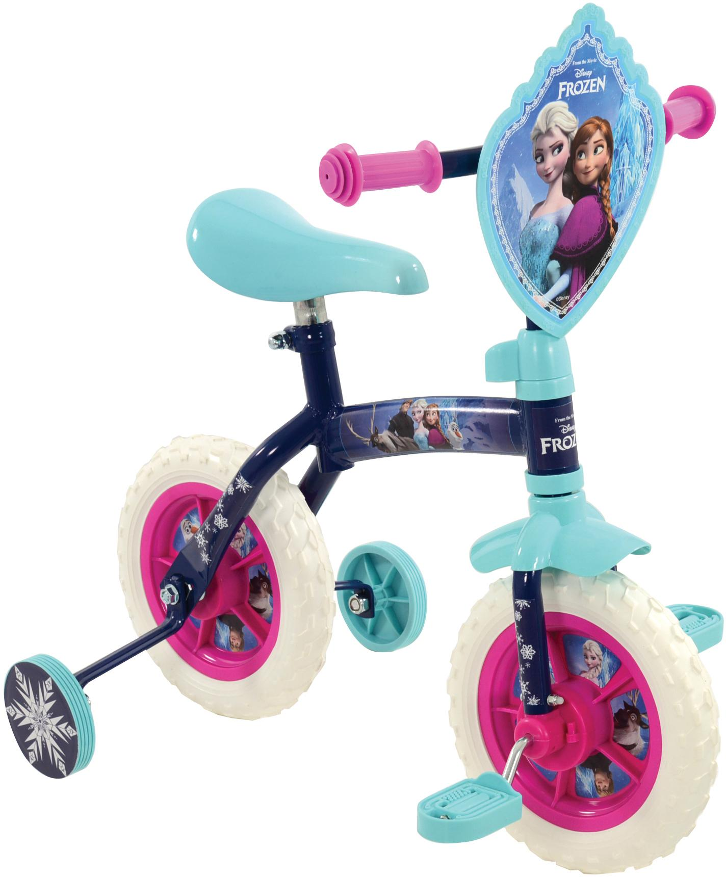 Frozen 2in1 Training Bike - 10 inch Wheel