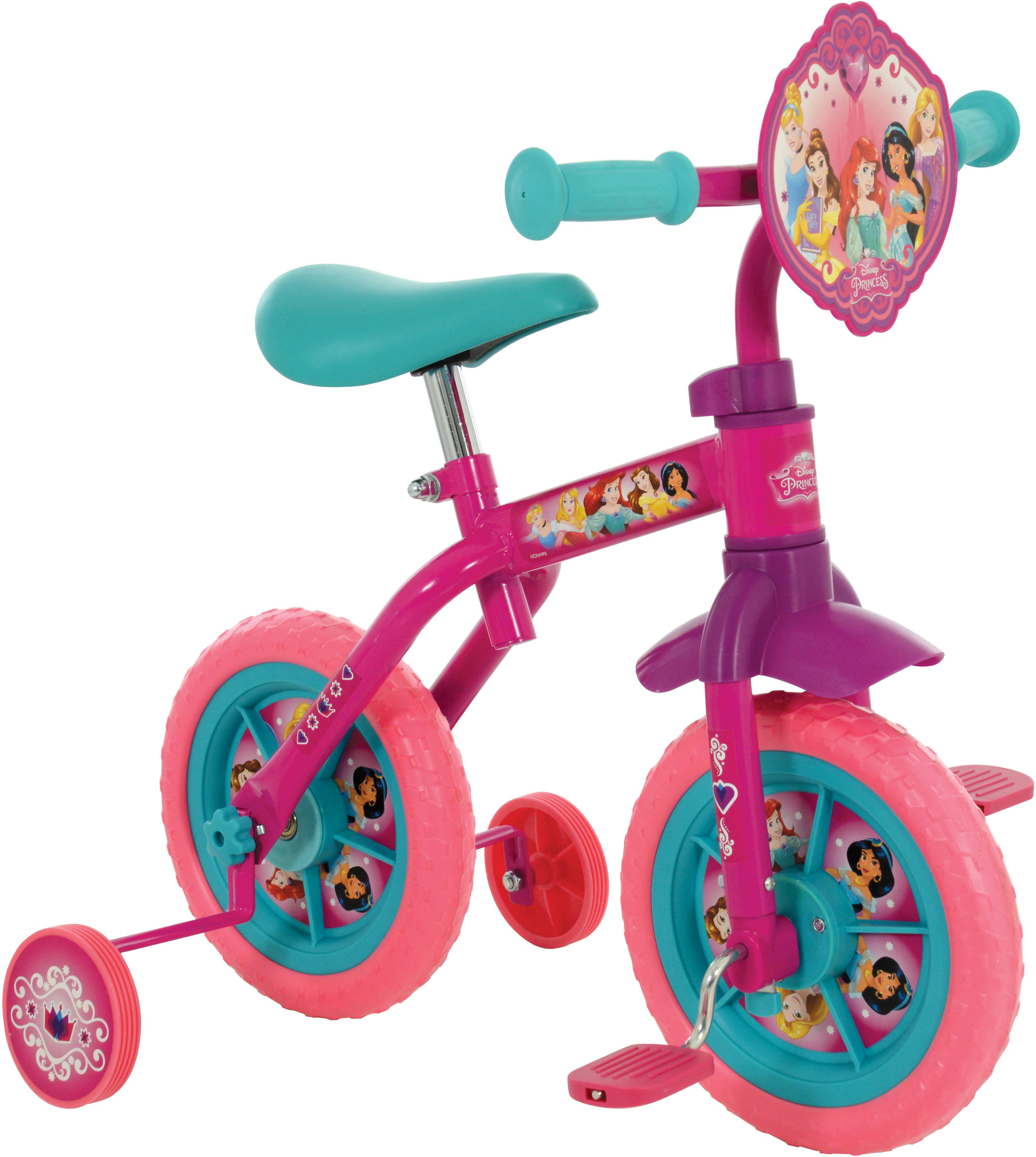 Disney Princess 2in1 Training Bike - 10 inch Wheel