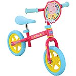 "image of Peppa Pig Balance Bike - 10"" Wheel"