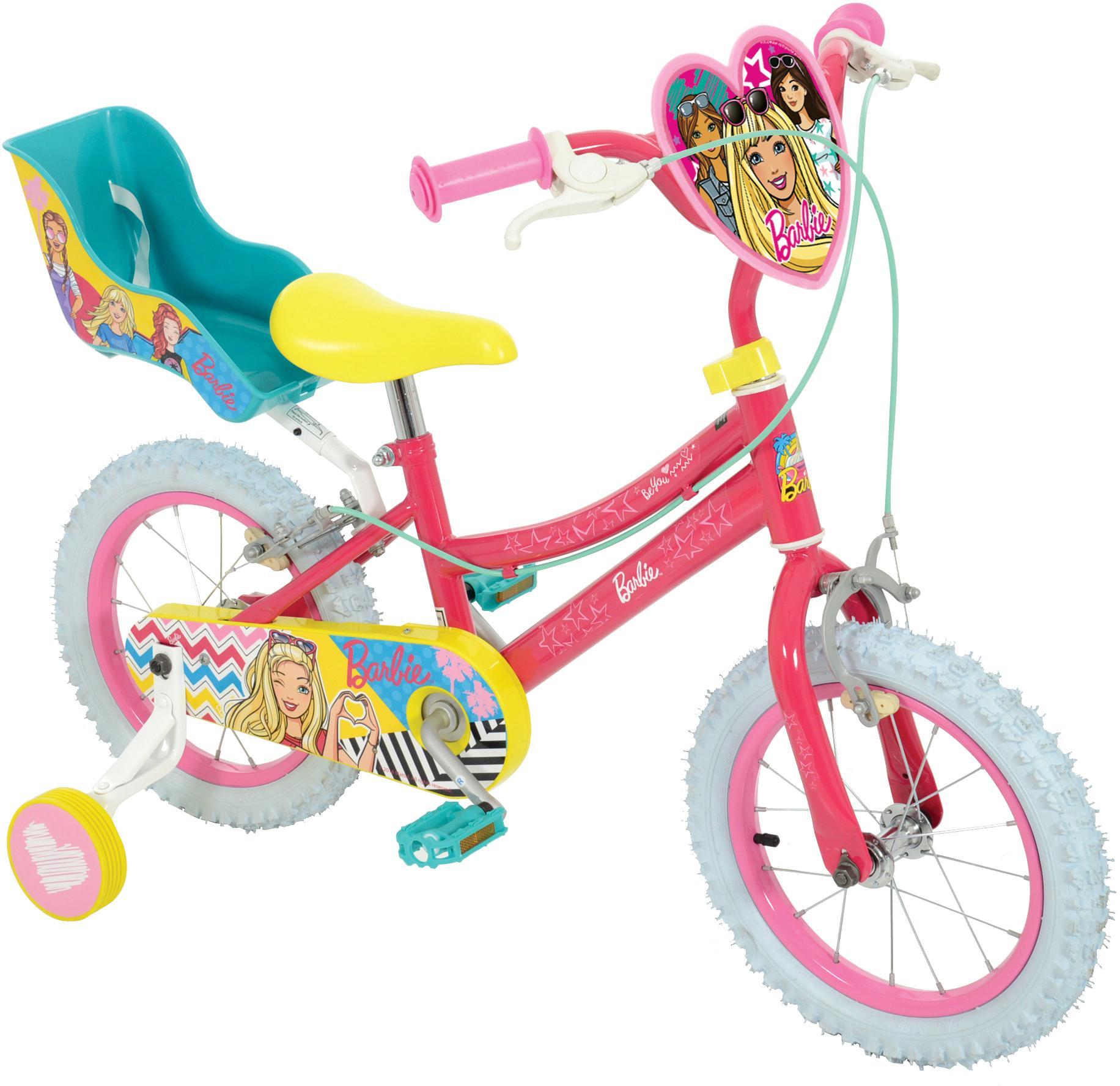 Barbie Kids Bike   14 Inch Wheel