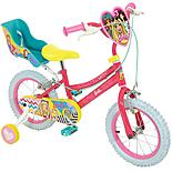"Barbie Kids Bike - 14"" Wheel"