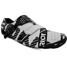 image of BONT Riot Buckle Cycling Shoe, White/Black