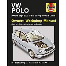 image of Haynes VW Polo (02 to May 05) Manual