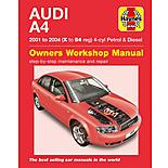 Haynes Audi A4 (01 to 04) Manual