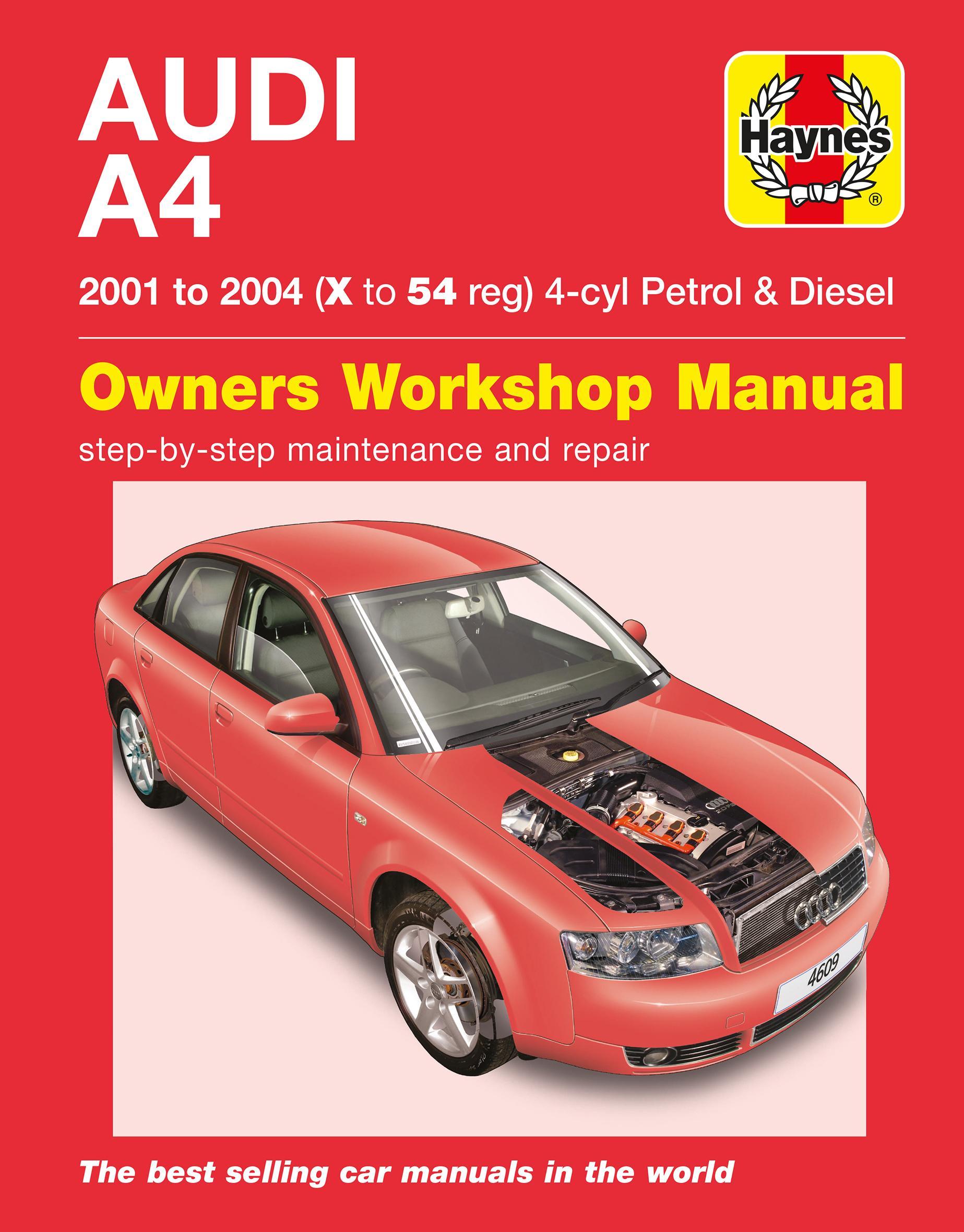 haynes audi a4 01 to 04 manual rh halfords com Audi Cars Audi Cars