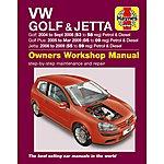 image of Haynes VW Golf & Jetta (04 - 09) Manual