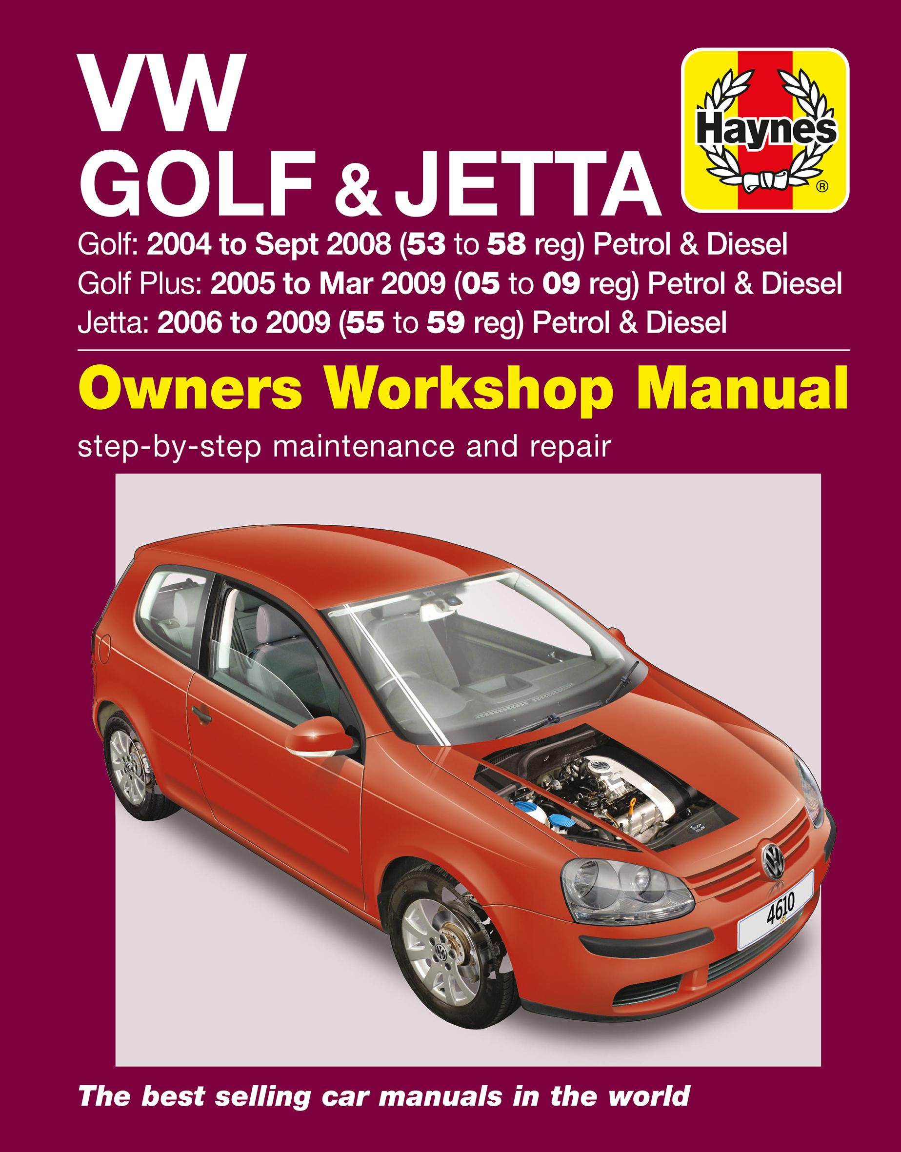 haynes vw golf jetta 04 09 ma rh halfords com vw golf gti mk5 workshop manual VW Golf MK4 GTI