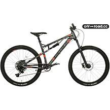 image of Carrera Titan X Mens Full Suspension Mountain Bike - S, M, L, Frames