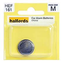 image of Halfords Car Alarm Battery CR2032