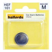 Halfords Car Alarm Battery CR2032