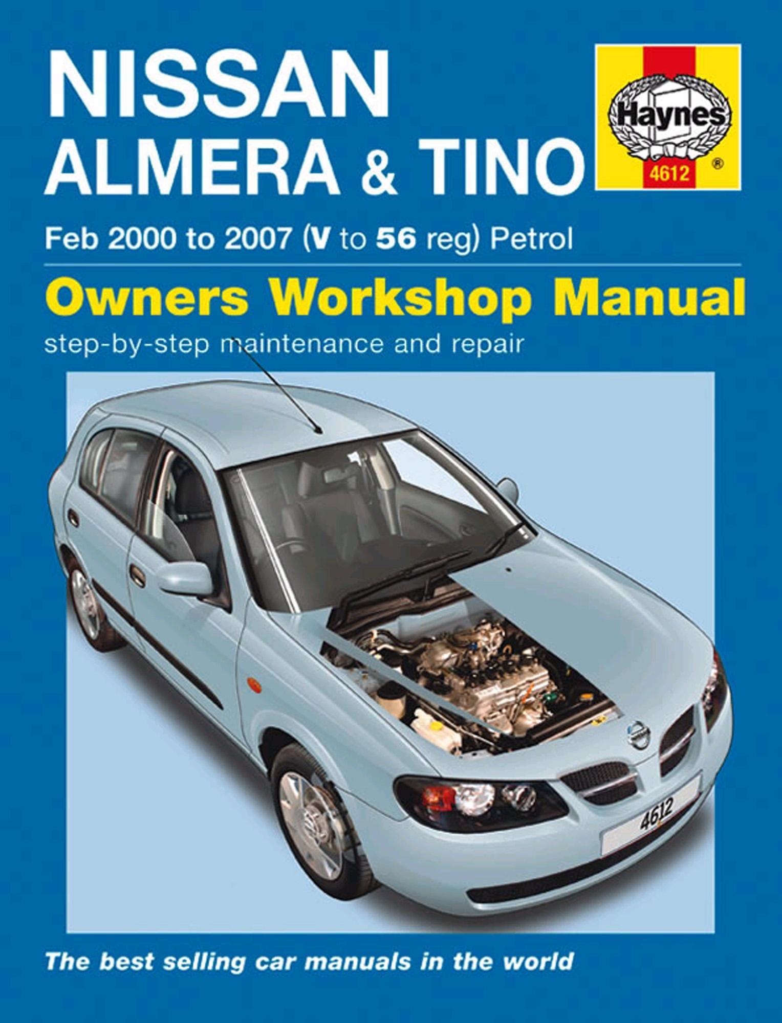 haynes nissan almera tino feb 00 rh halfords ie nissan almera haynes manual download nissan almera n16 workshop manual