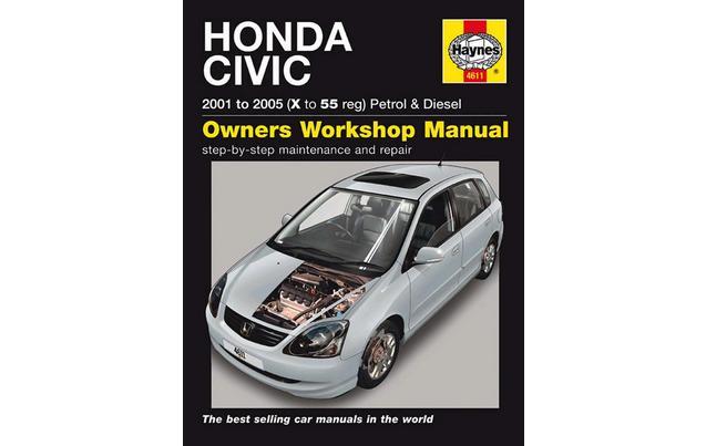 civic ep2 service manual