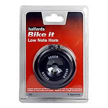 image of Halfords Bike it Low Note Motorcycle Horn
