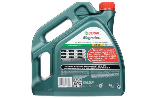 castrol magnatec 5w30  Castrol Magnatec 5W30 A5 Oil 4 Litr...