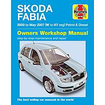 image of Haynes Skoda Fabia (00 - 06) Manual
