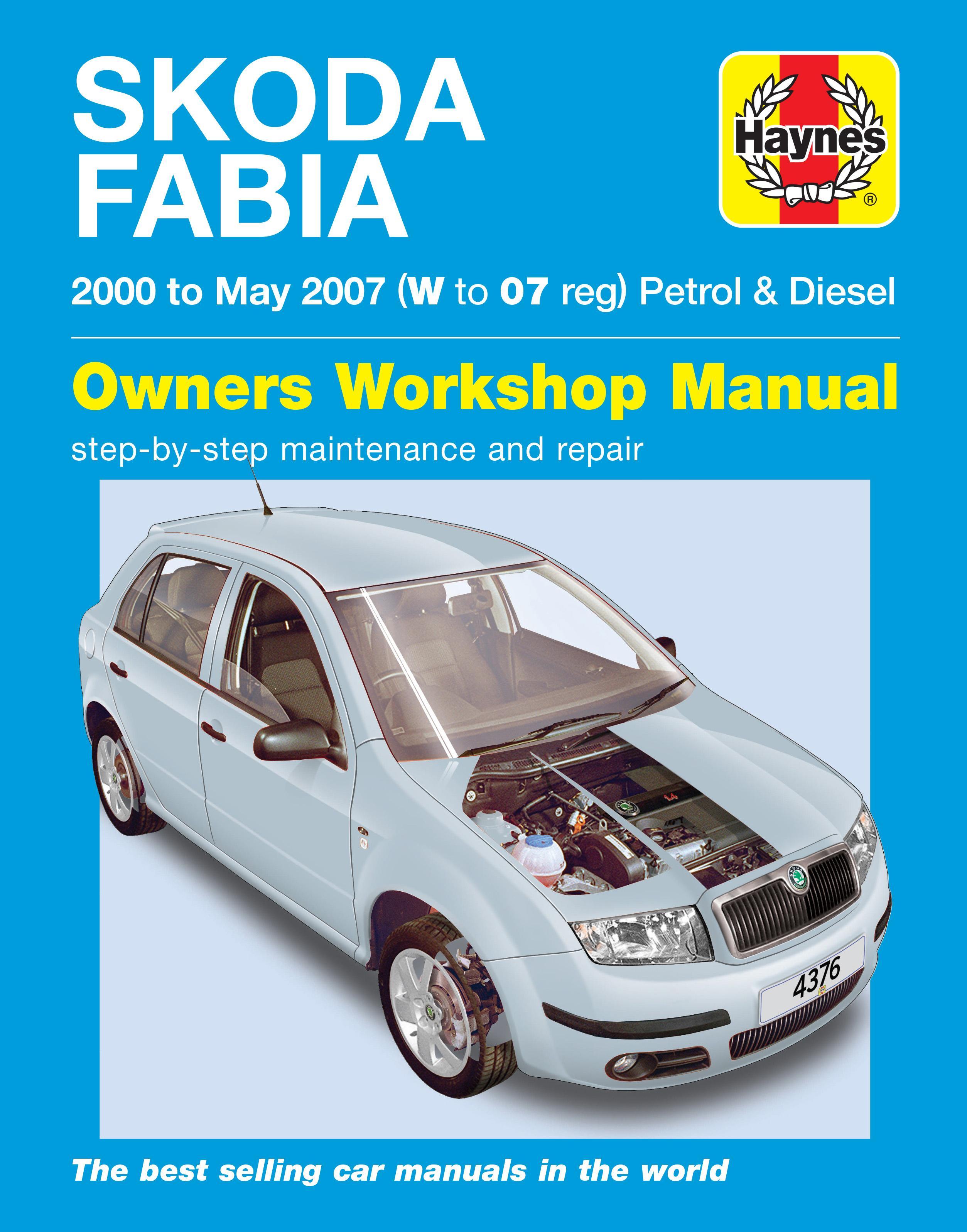 haynes skoda fabia 00 06 manual rh halfords com Manual Book HP Owner Manuals