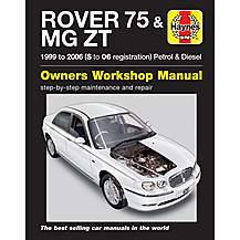 image of Haynes Rover 75/MG ZT (Feb 99 - 06) Manual