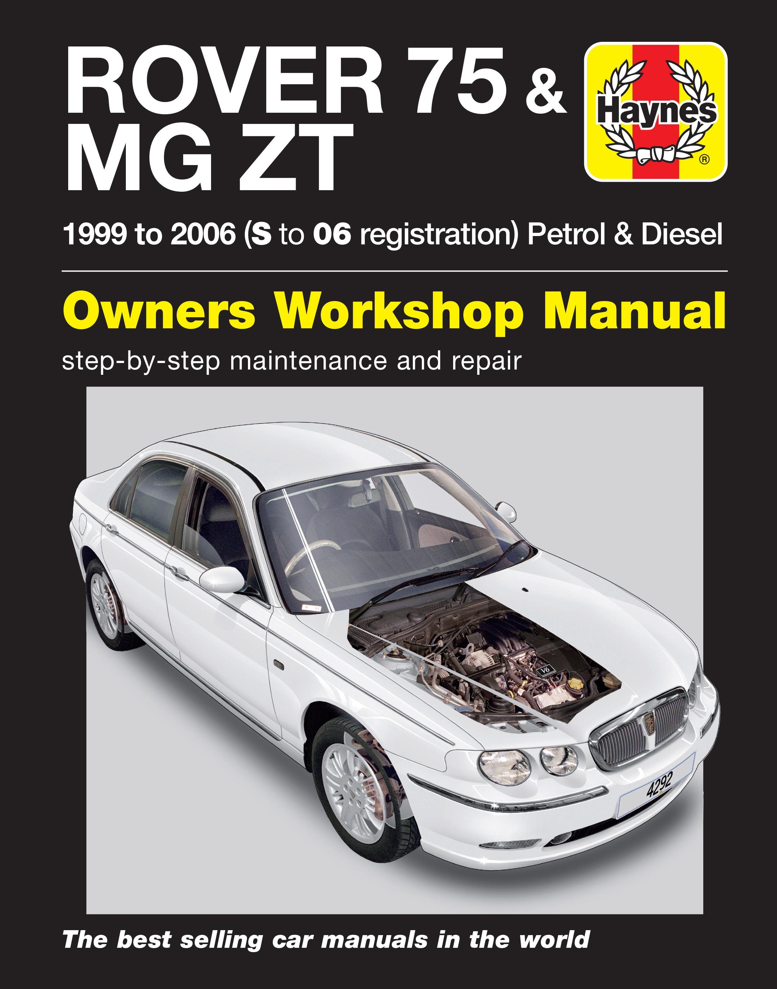 haynes rover 75 mg zt feb 99 06 rh halfords com Mygmlink Owner's Manual Haynes Manual for Quads