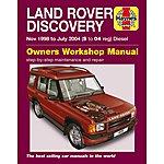 image of Haynes Land Rover Discovery (Nov 98 - Jul 04) Manual