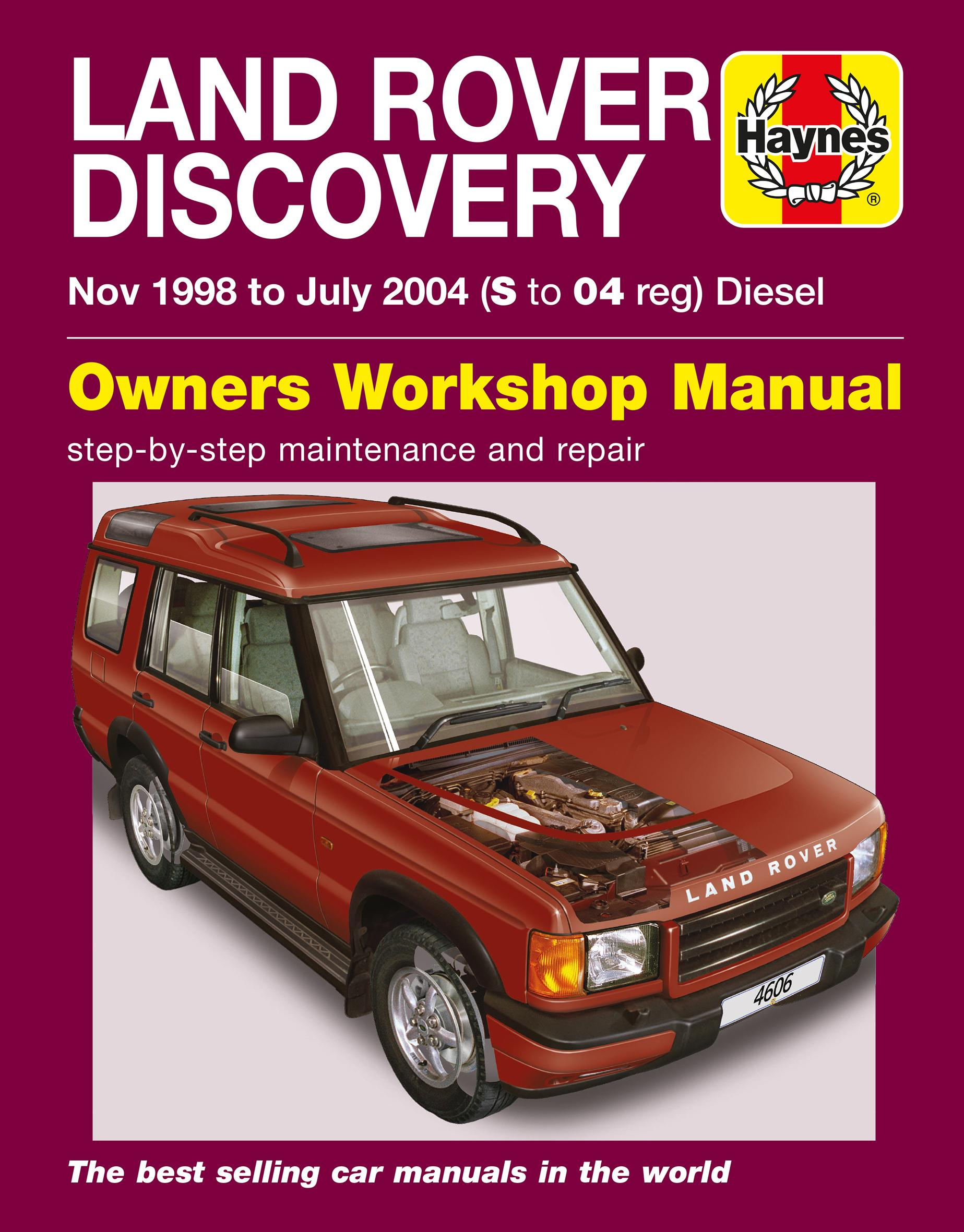 Land rover discovery full service repair manual pdf array haynes land rover discovery nov 98 rh halfords com fandeluxe Gallery