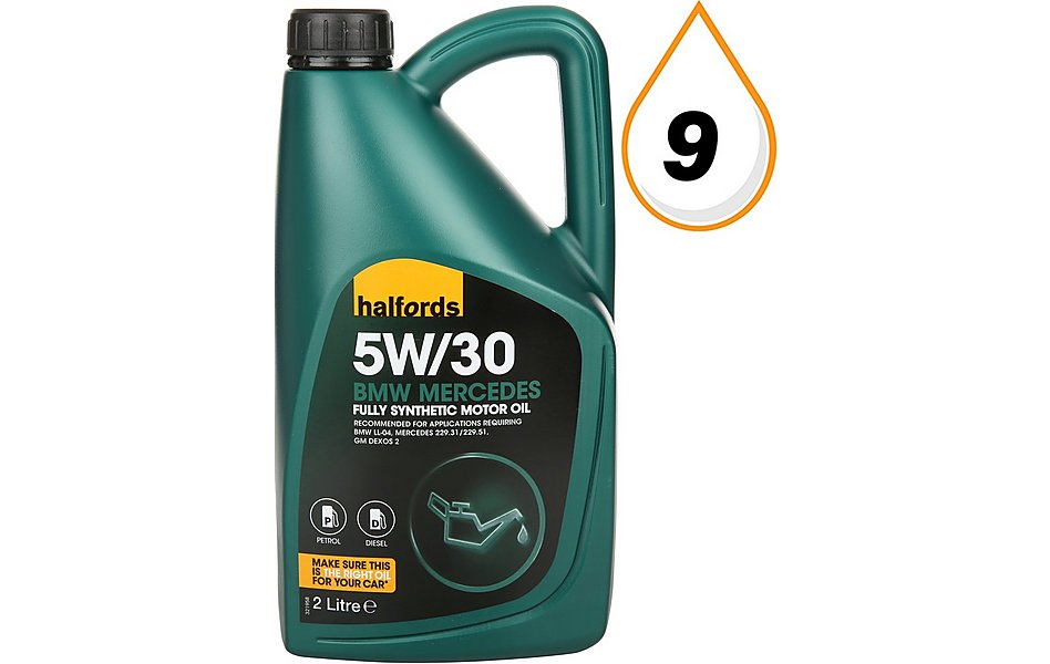 Bmw Recommended Oil >> Halfords 5w30 Fully Synthetic Bmw Mb Oil 2l